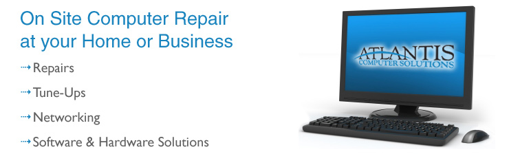 On Site Computer Repair at your Home or Business